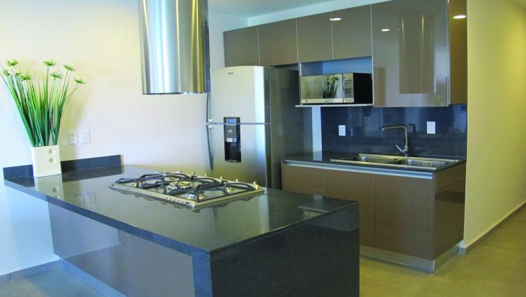 Kitchen at Carso Apartment - Citybase Apartments