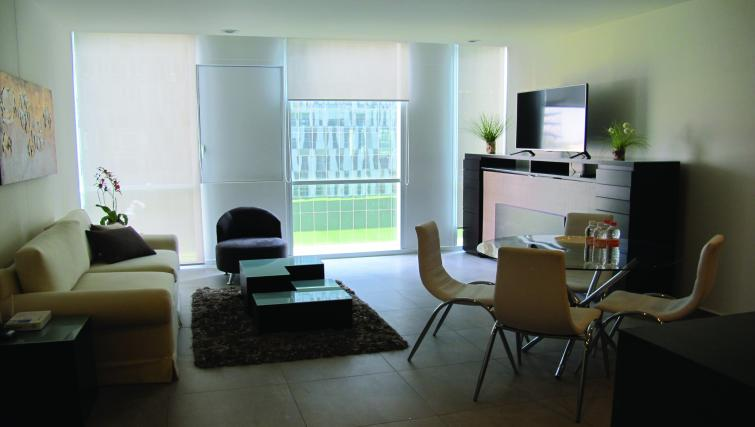 Living area at Carso Apartment - Citybase Apartments