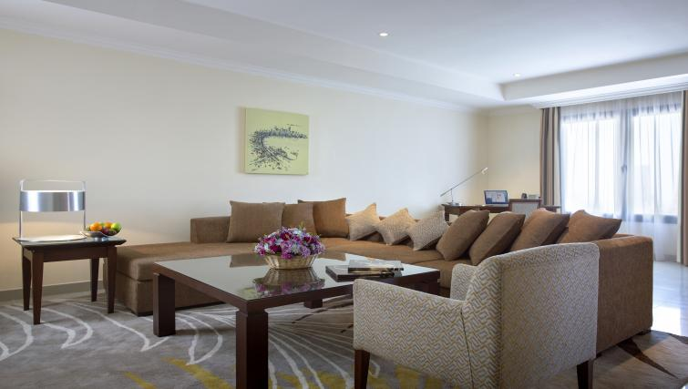 Sophisticated living area at Sedra Residences - Citybase Apartments