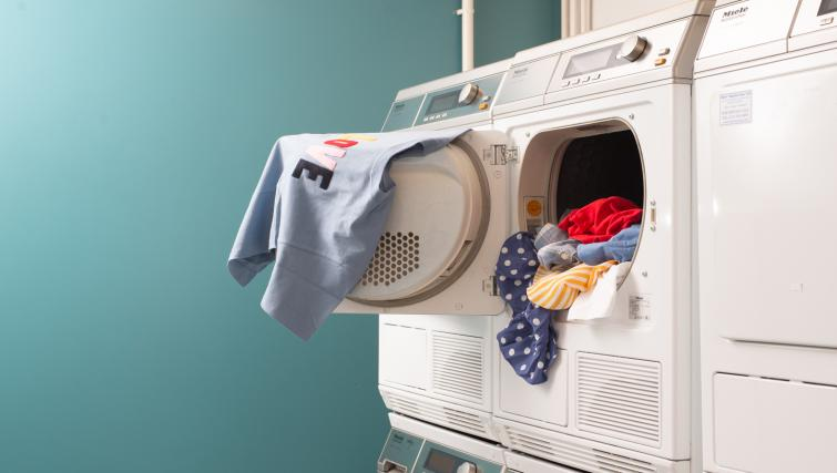 Laundry facilities at Staybridge Suites Liverpool - Citybase Apartments