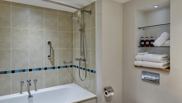 Bathroom at Staybridge Suites Liverpool - Citybase Apartments