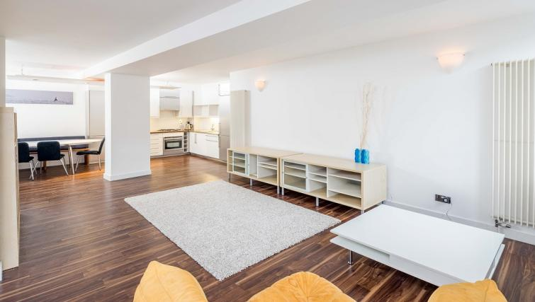 Fully equipped kitchen at Still Life Clerkenwell Deluxe - Goswell - Citybase Apartments