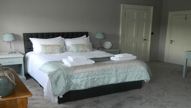 Double bedroom at Birchover Bridgford Hall Apartments - Citybase Apartments