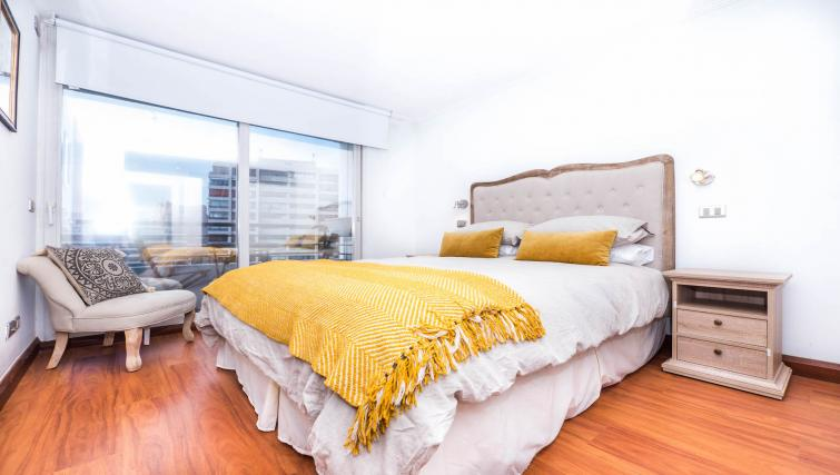 Bedroom at the Alsacia Apartment - Citybase Apartments