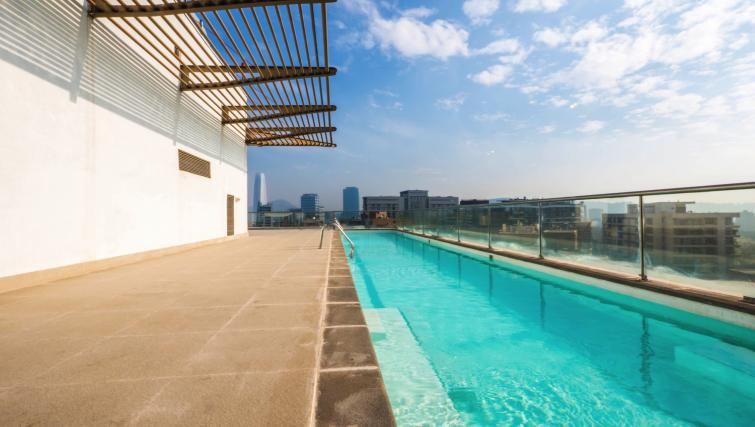 Communal swimming pool at the Alsacia Apartment - Citybase Apartments
