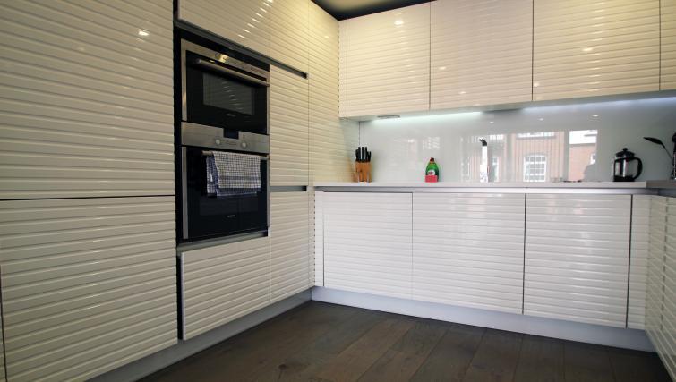 Kitchen at Angel Apartments - Citybase Apartments