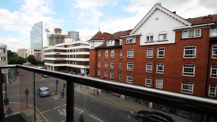 Balcony at Angel Apartments - Citybase Apartments