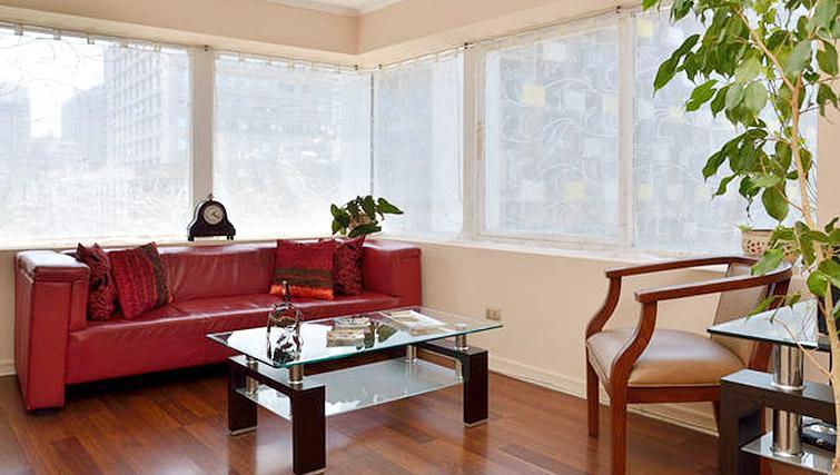 Living room at VIP Apartments Chile - Citybase Apartments