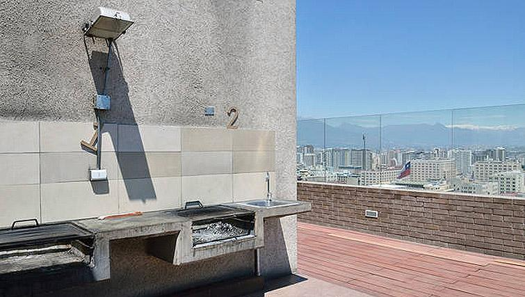 Rooftop terrace at VIP Apartments Chile - Citybase Apartments