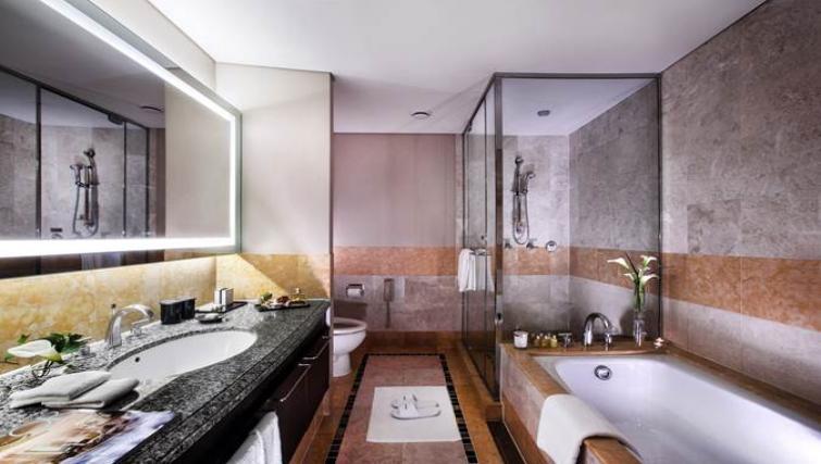 Fresh bathroom in Oakwood Premier Coex Center Seoul - Citybase Apartments