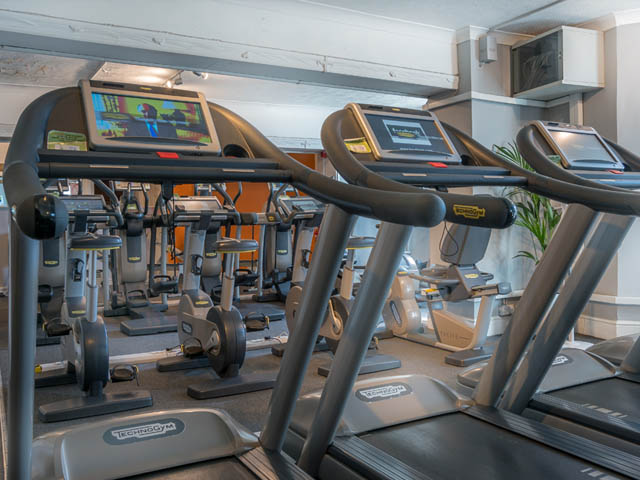 Gym at Queens Hotel Apartments - Citybase Apartments