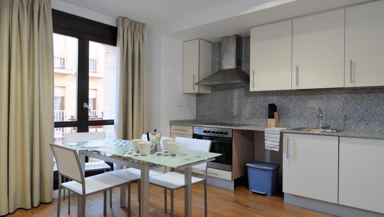 Equipped kitchen at Palacio Apartments - Citybase Apartments
