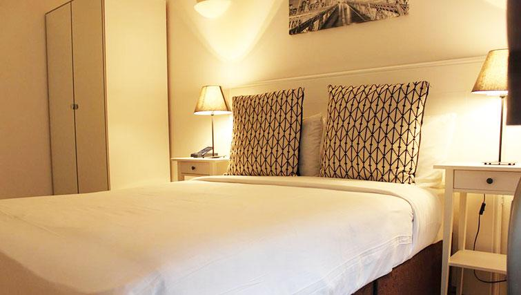 Cosy bedroom at So Hammersmith Apartments - Citybase Apartments