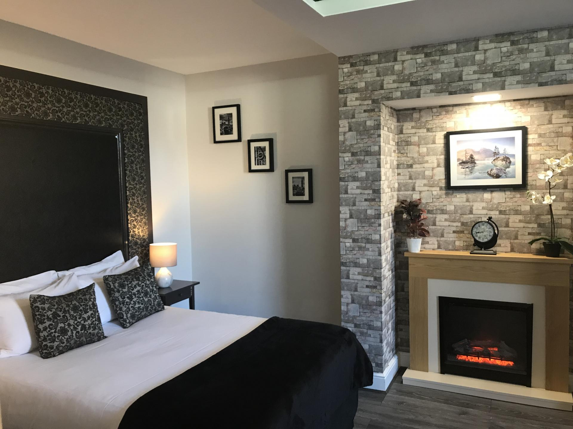 Fireplace at So Hammersmith Apartments - Citybase Apartments