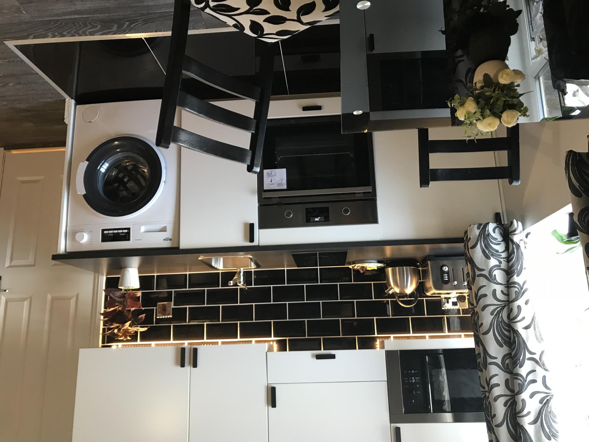 Black subway tiles at So Hammersmith Apartments - Citybase Apartments