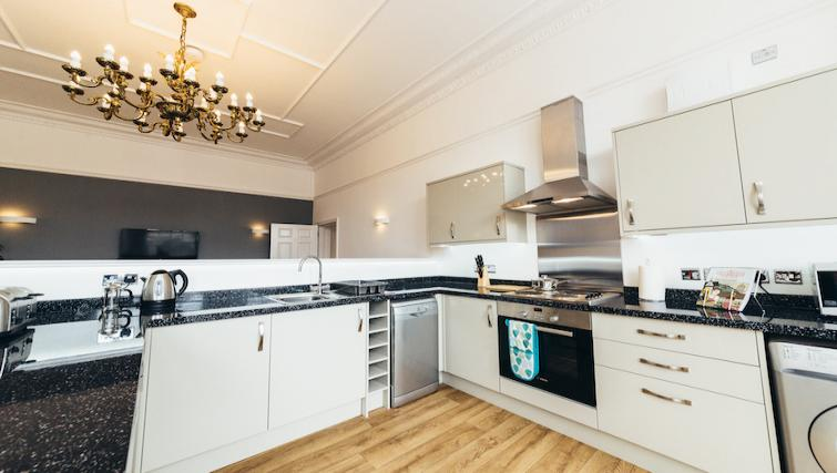 Fully equipped kitchen at Friar Gate Derby Apartments - Citybase Apartments