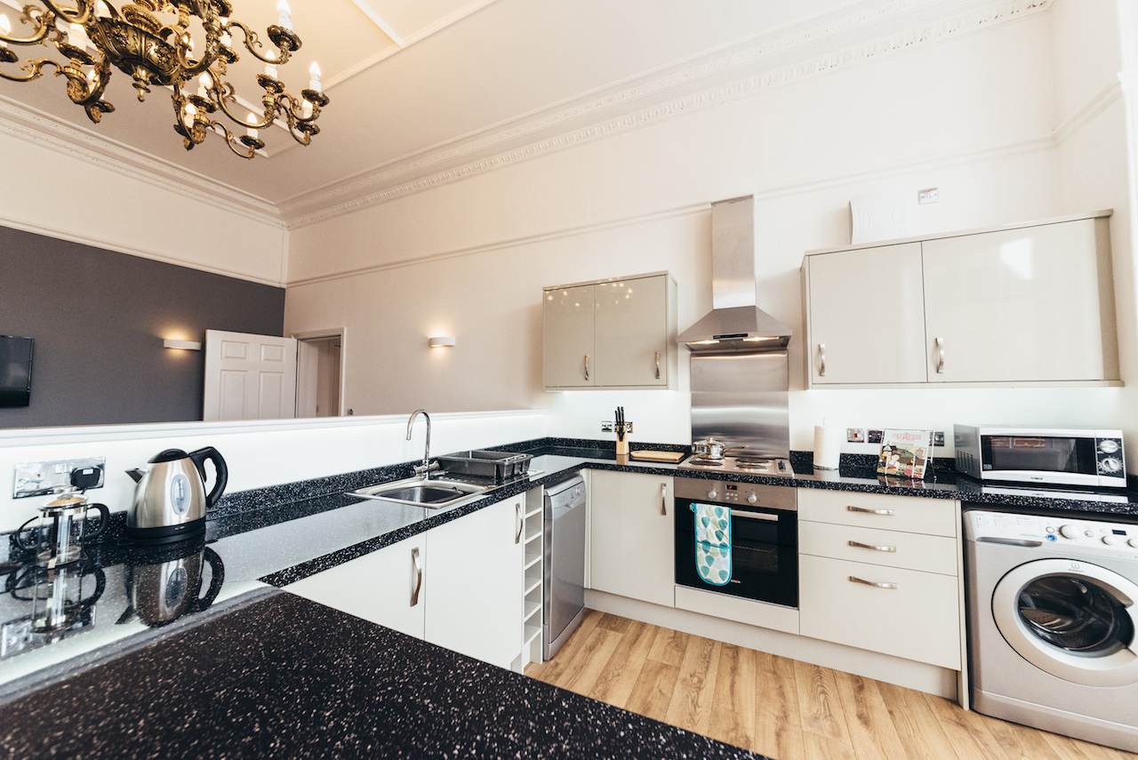 Kitchen facilitites at Friar Gate Derby Apartments - Citybase Apartments