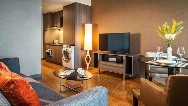 Stylish living area at Park Avenue Changi Apartments, Singapore - Citybase Apartments