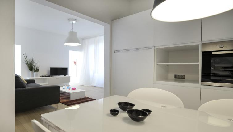 Dining area at Goldoni Apartment - Citybase Apartments