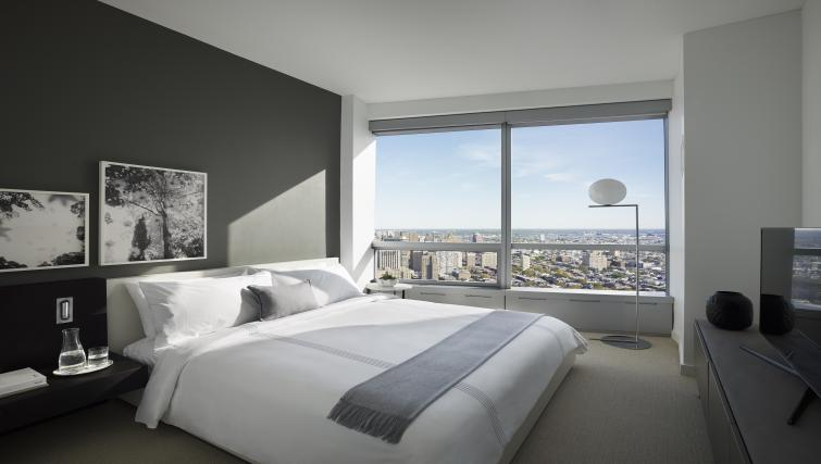 Bedroom at the University City Apartments - Citybase Apartments