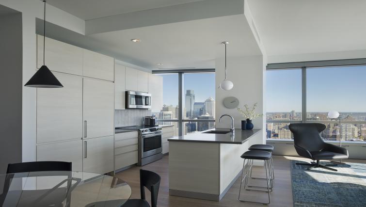 Kitchen at the University City Apartments - Citybase Apartments