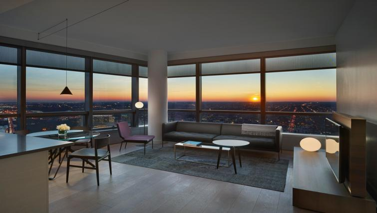 lounge at the University City Apartments - Citybase Apartments