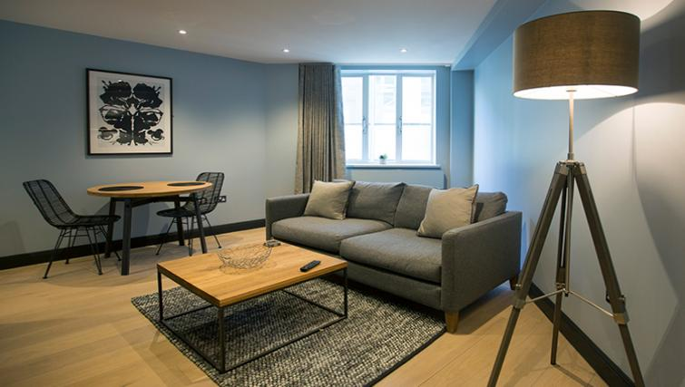 Cosy living space at the Waterloo Street Apartments - Citybase Apartments