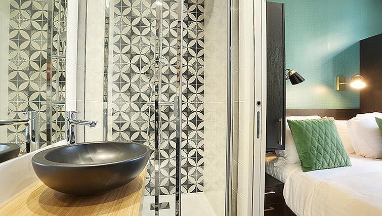 Bathroom at Eiffel Village Apartments - Citybase Apartments