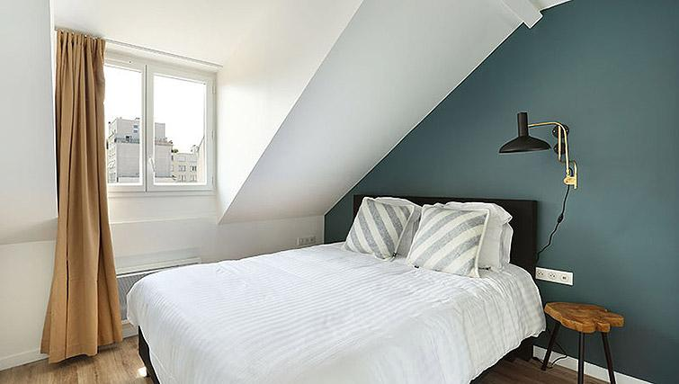 Double bedroom at Eiffel Village Apartments - Citybase Apartments