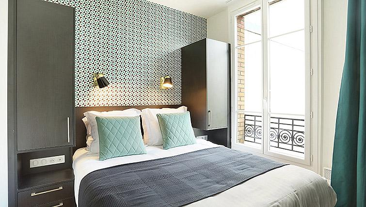 Bedroom at Eiffel Village Apartments - Citybase Apartments