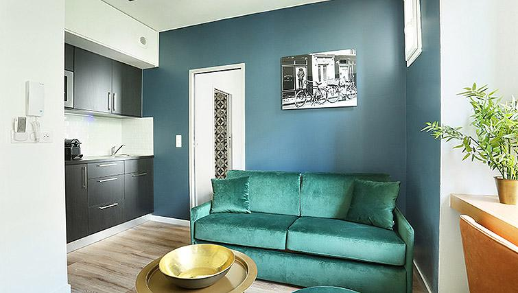 Stylish living space at Eiffel Village Apartments - Citybase Apartments
