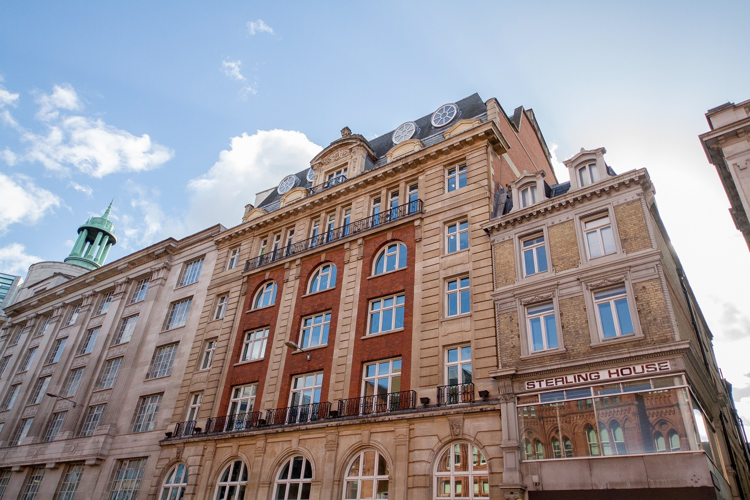 Exterior at Sterling House Apartments, Holborn, London - Citybase Apartments