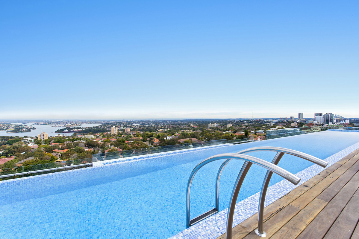 Pool at Astra North Sydney - Pacific Highway - Citybase Apartments