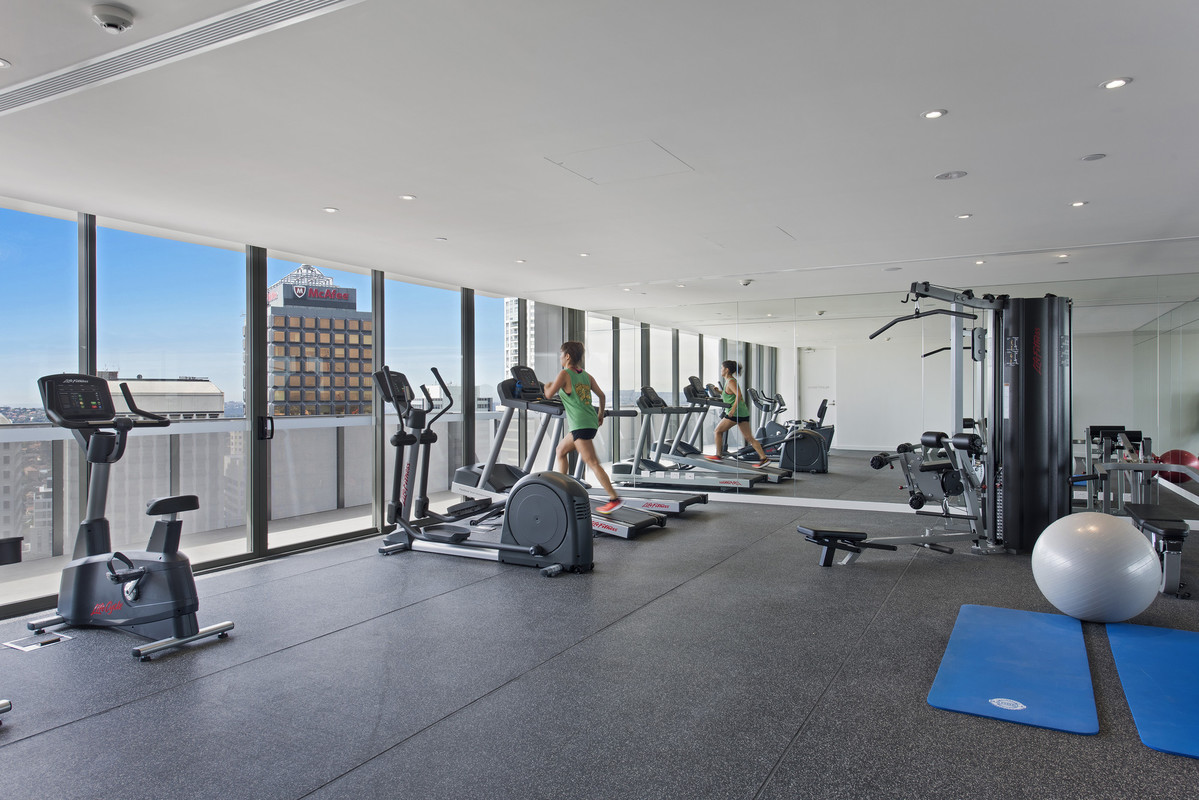 Gym at Astra North Sydney - Pacific Highway - Citybase Apartments