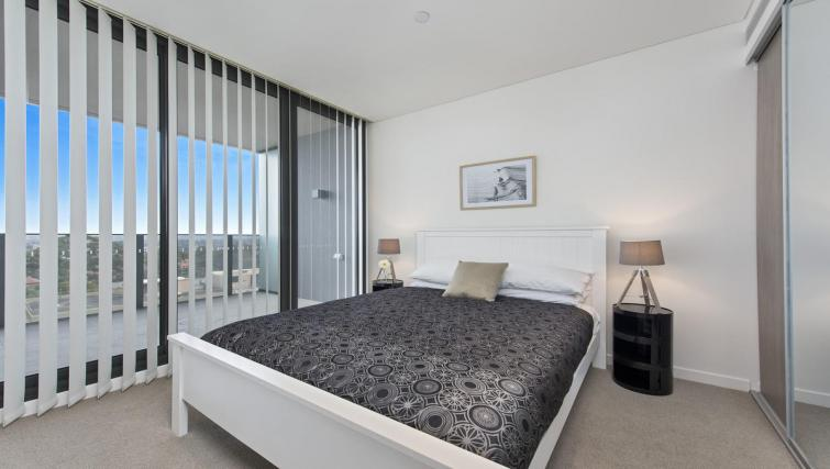 Bedroom at Astra North Sydney - Pacific Highway - Citybase Apartments
