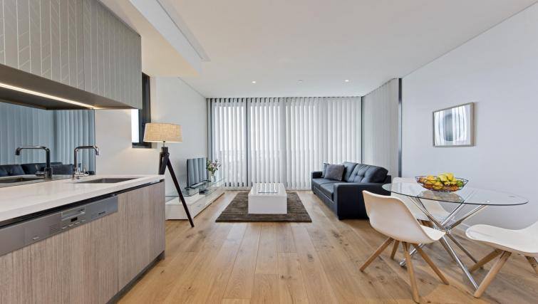 Living area at Astra North Sydney - Pacific Highway - Citybase Apartments