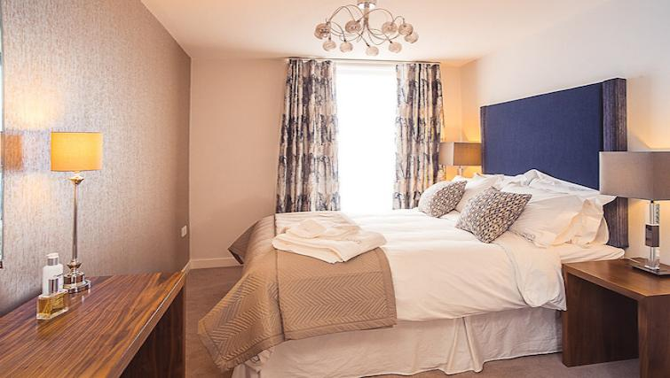 Bedroom at 9 Freedom Quay Apartment - Citybase Apartments