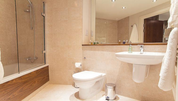 WC at 9 Freedom Quay Apartment - Citybase Apartments