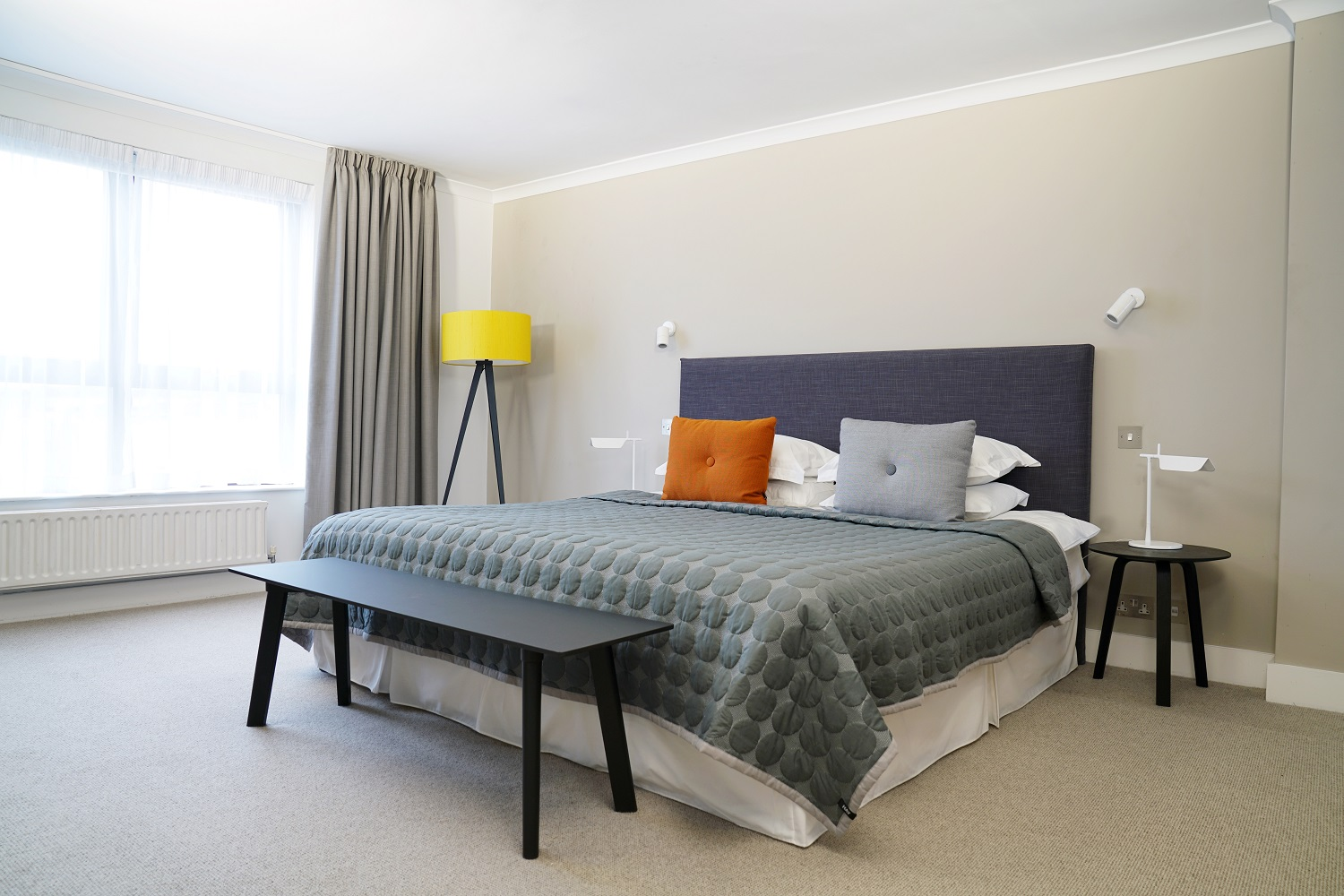 Bedroom at Monarch House, Kensington, London - Citybase Apartments