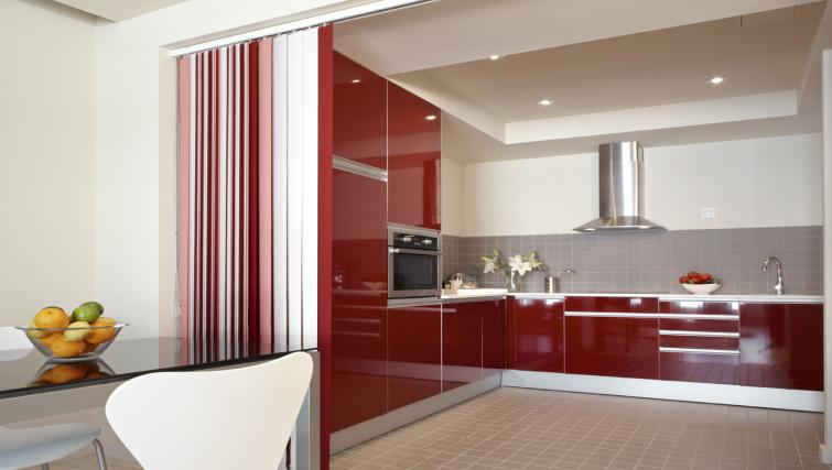 Modern kitchen at The Urban Suites Barcelona - Citybase Apartments