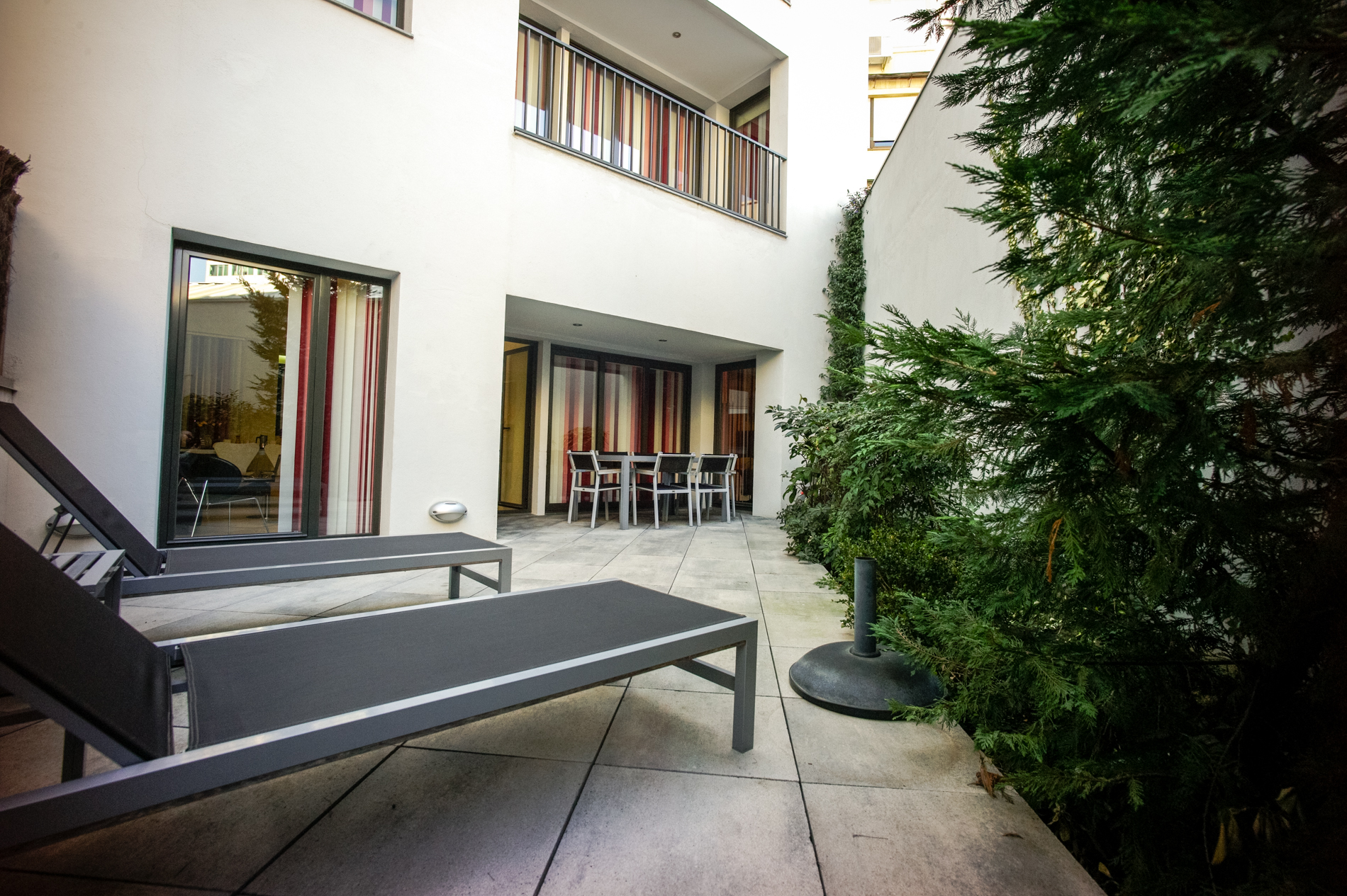 Patio at The Urban Suites Barcelona - Citybase Apartments