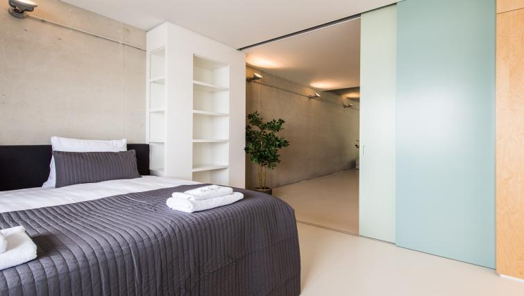 Bedroom at Houthavens Serviced Apartments, Amsterdam - Citybase Apartments
