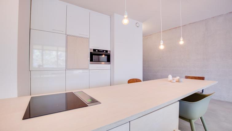 Studio kitchen at Houthavens Serviced Apartments, Amsterdam - Citybase Apartments