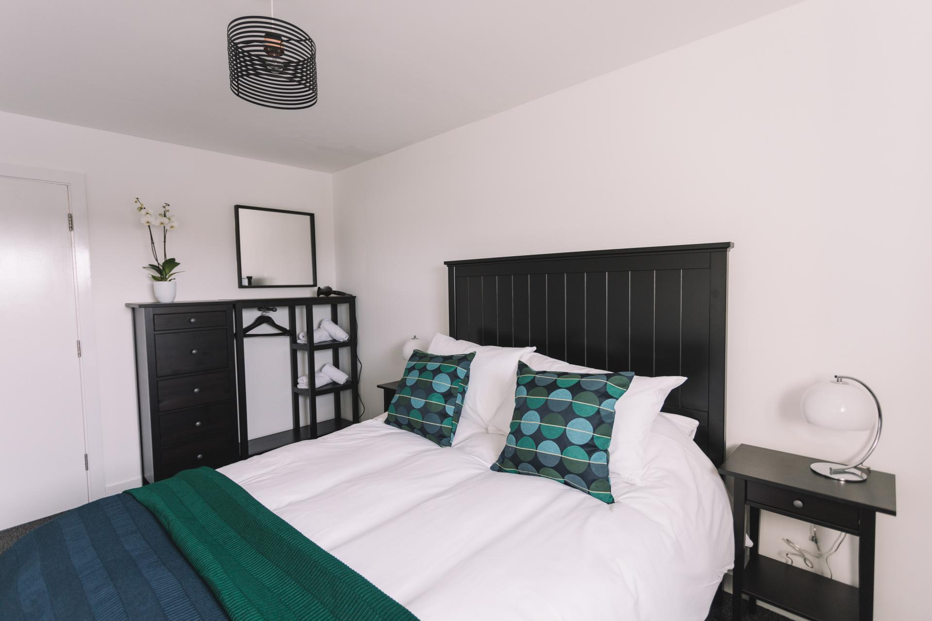 Bedroom at Bridge Square Apartments - Citybase Apartments