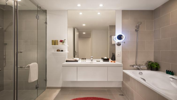 Bathroom at Somerset West Point Hanoi Apartments - Citybase Apartments