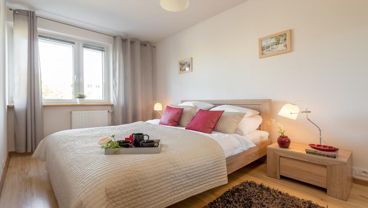 Bedroom at Metro Imielin Apartment - Citybase Apartments