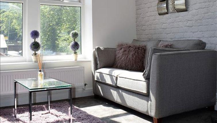 Sofa at Hampstead Apartment - Citybase Apartments