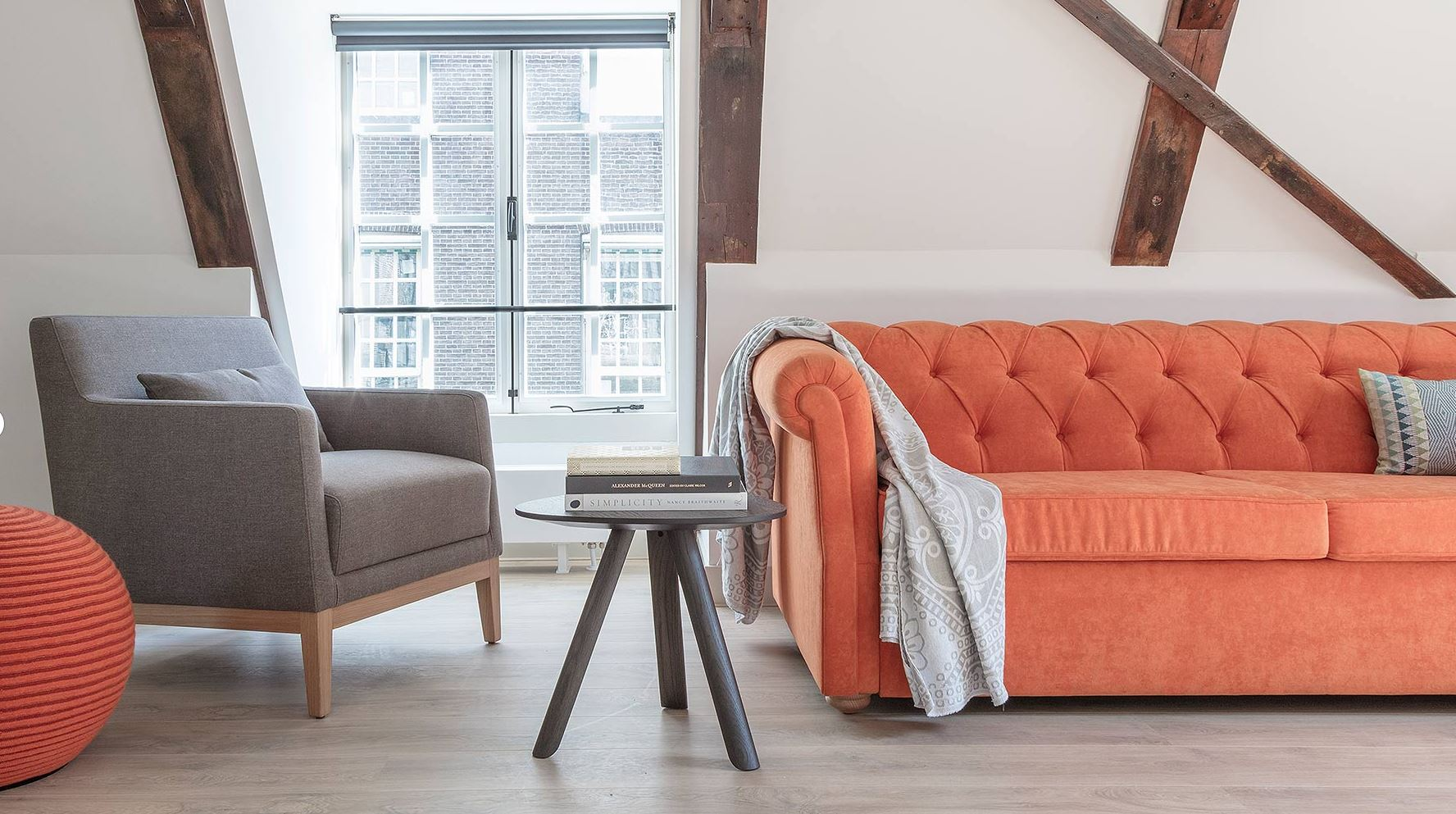 Living area at The Wittenberg Apartments, Amsterdam - Citybase Apartments