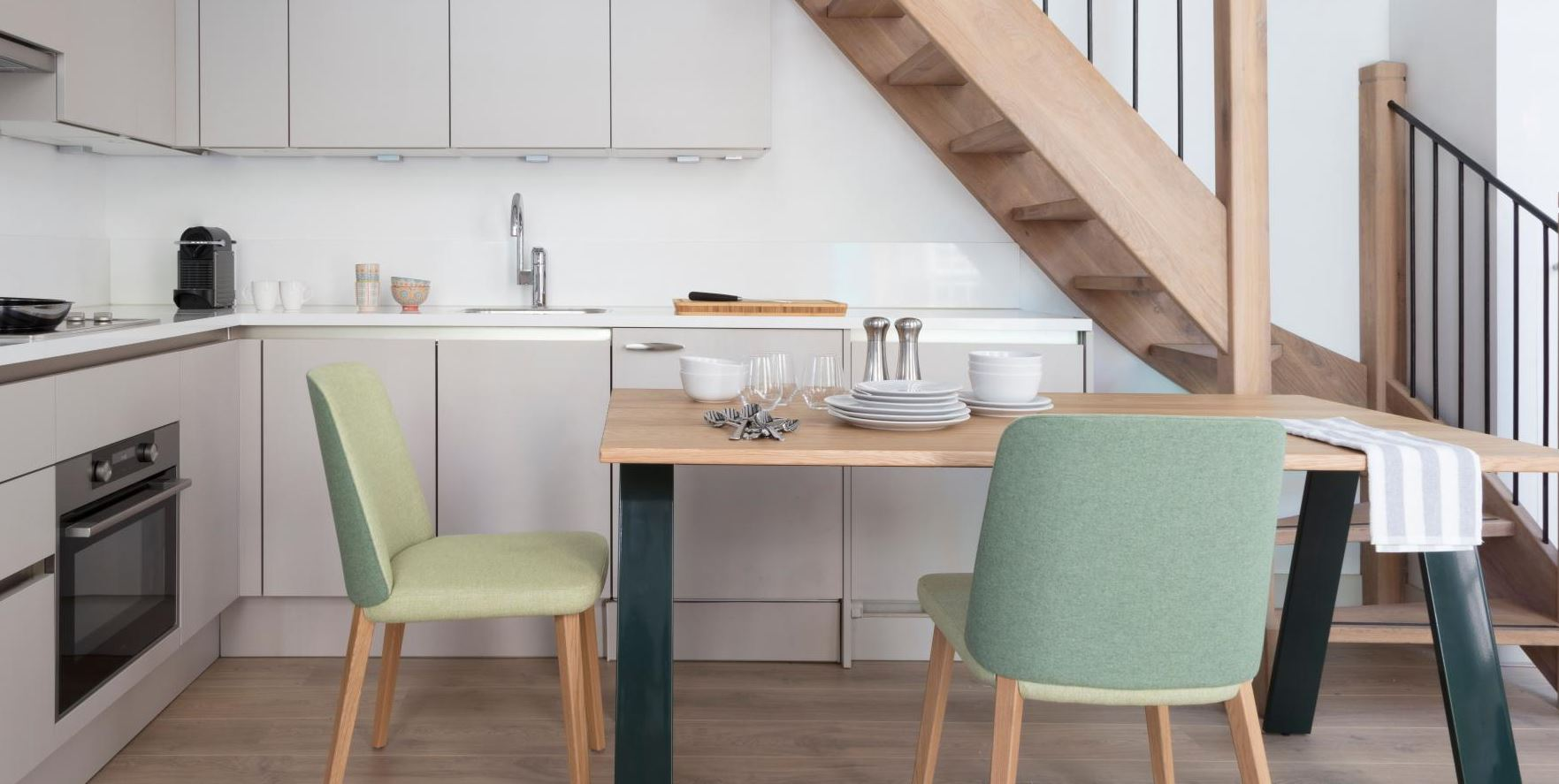 Kitchen at The Wittenberg Apartments, Amsterdam - Citybase Apartments