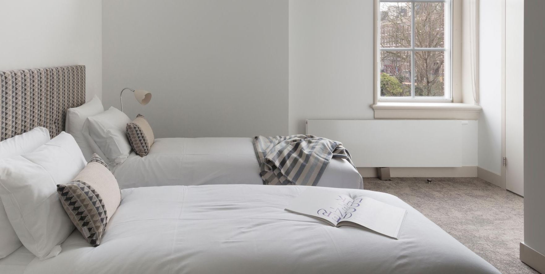 Twin room at The Wittenberg Apartments, Amsterdam - Citybase Apartments